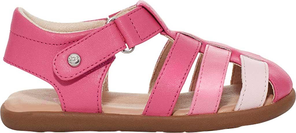 Infant UGG Kolding Fisherman Sandals - Toddler, Pink Azalea Synthetic Leather, large, image 2