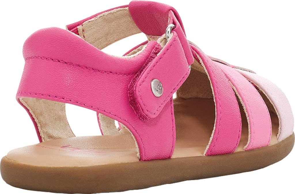 Infant UGG Kolding Fisherman Sandals - Toddler, Pink Azalea Synthetic Leather, large, image 4