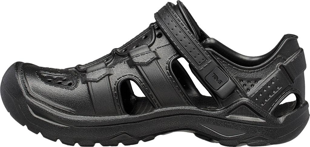 Children's Teva Omnium Drift Closed Toe Sandal - Little Kid, Black Synthetic, large, image 3