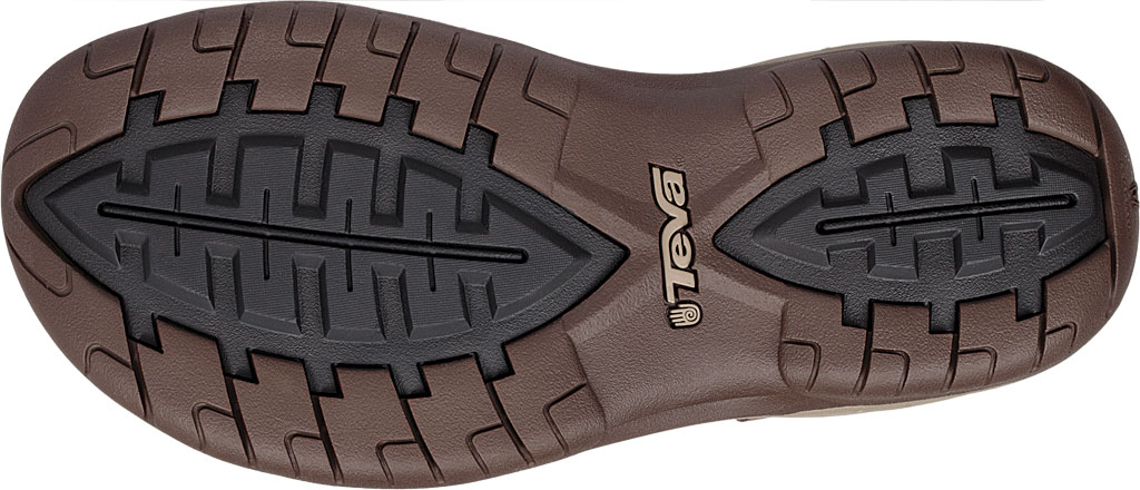 Men's Teva Tanway Leather Sandal, Chocolate Brown Leather, large, image 6
