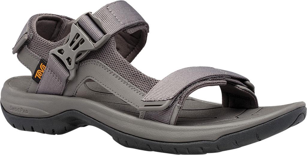 Men's Teva Tanway Active Sandal, Dark Gull Grey Synthetic, large, image 1