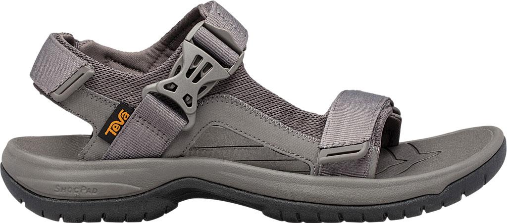 Men's Teva Tanway Active Sandal, Dark Gull Grey Synthetic, large, image 2