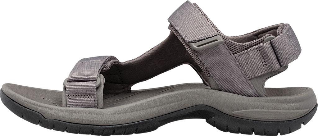 Men's Teva Tanway Active Sandal, Dark Gull Grey Synthetic, large, image 3