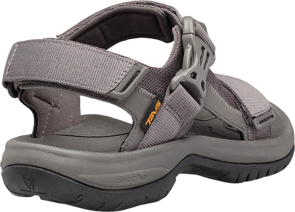 Men's Teva Tanway Active Sandal, Dark Gull Grey Synthetic, large, image 4