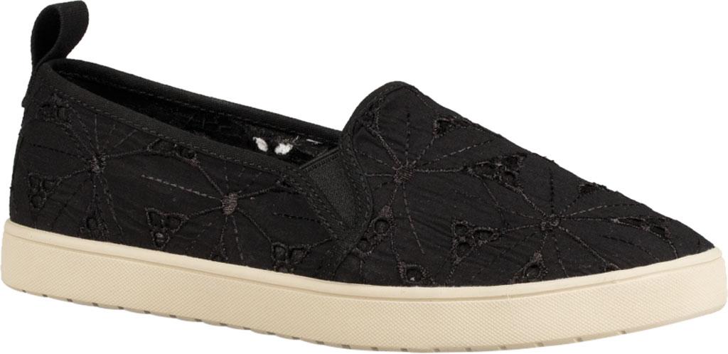 Women's Koolaburra by UGG Amiah Slip On Sneaker, Black Flower Fabric/Grosgrain, large, image 1