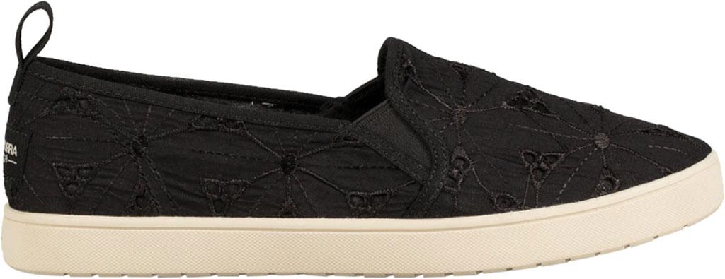 Women's Koolaburra by UGG Amiah Slip On Sneaker, Black Flower Fabric/Grosgrain, large, image 2