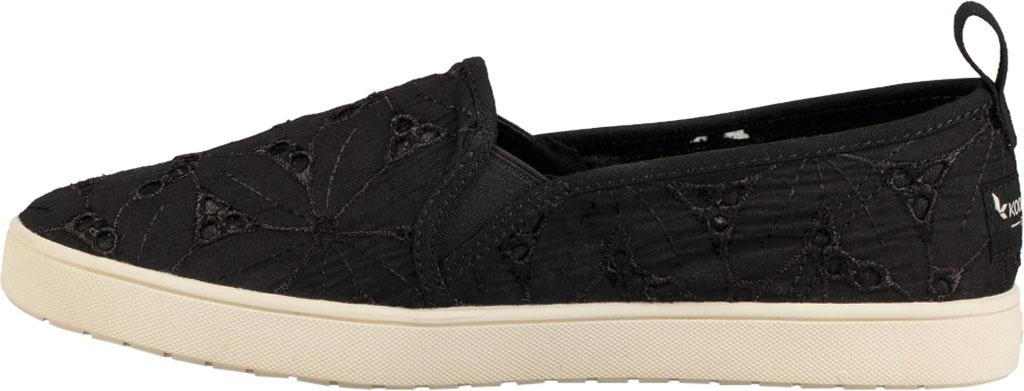 Women's Koolaburra by UGG Amiah Slip On Sneaker, Black Flower Fabric/Grosgrain, large, image 3