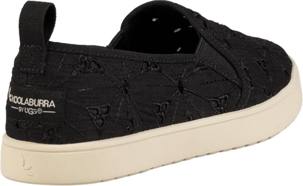 Women's Koolaburra by UGG Amiah Slip On Sneaker, Black Flower Fabric/Grosgrain, large, image 4