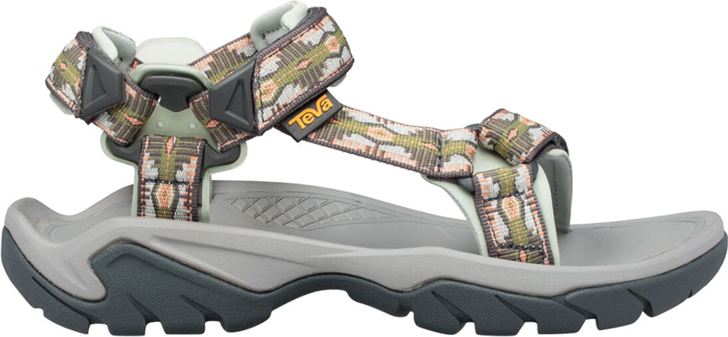 Women's Teva Terra Fi 5 Universal Sport Sandal, Canyon Calliste Green Textile, large, image 2