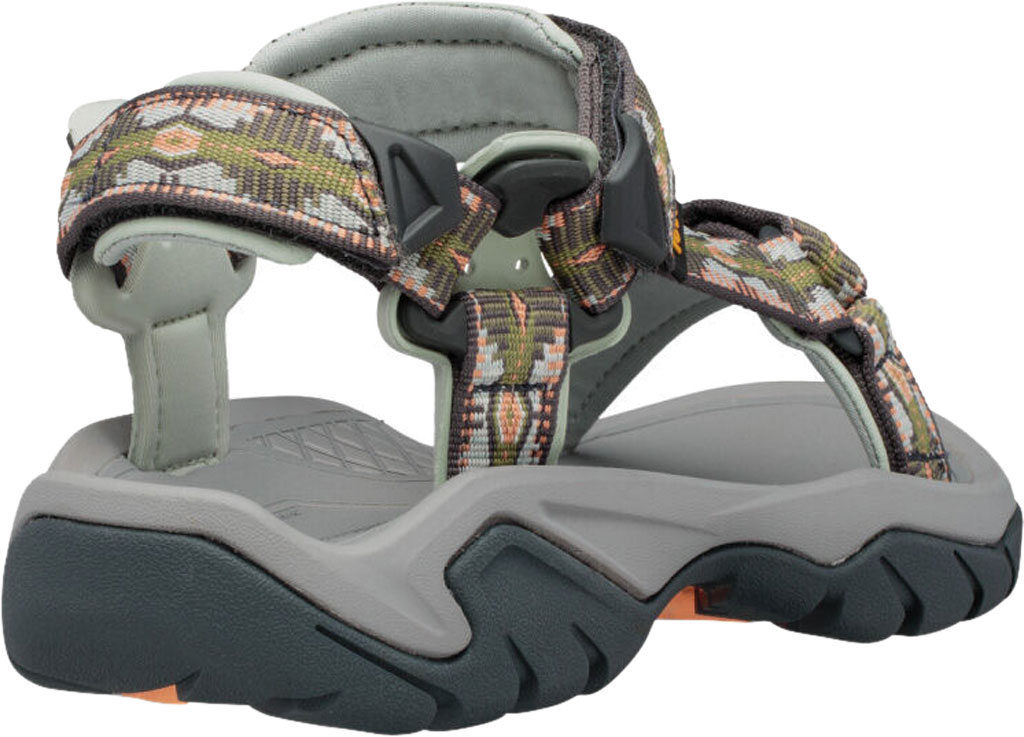 Women's Teva Terra Fi 5 Universal Sport Sandal, Canyon Calliste Green Textile, large, image 4