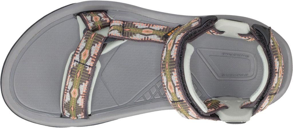Women's Teva Terra Fi 5 Universal Sport Sandal, Canyon Calliste Green Textile, large, image 5
