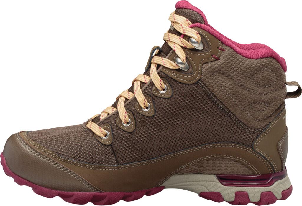 Women's Teva Sugarpine Mid Waterproof Hiking Boot, Chocolate Chip Mesh/Suede, large, image 3