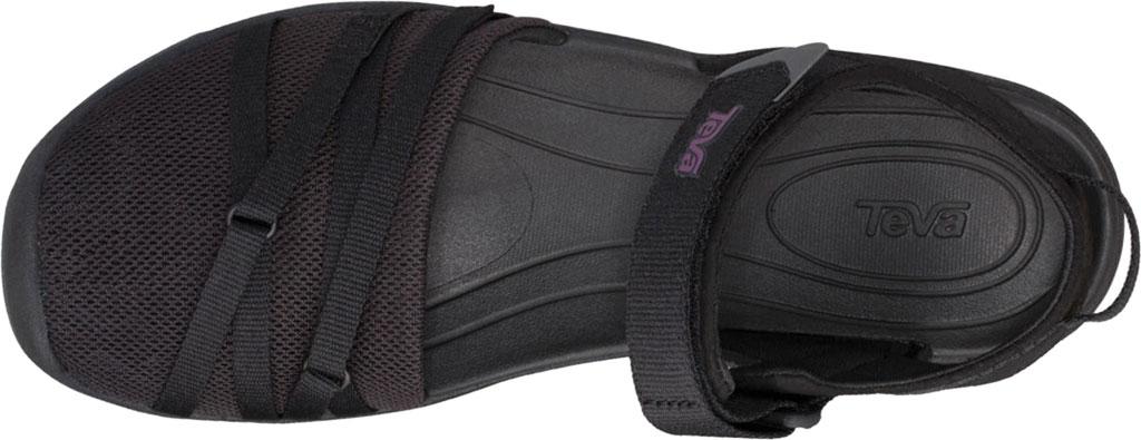 Women's Teva Tirra Closed Toe Sandal, Black Mesh, large, image 5