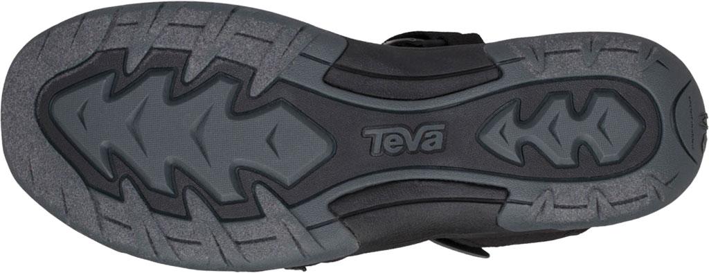 Women's Teva Tirra Closed Toe Sandal, Black Mesh, large, image 6