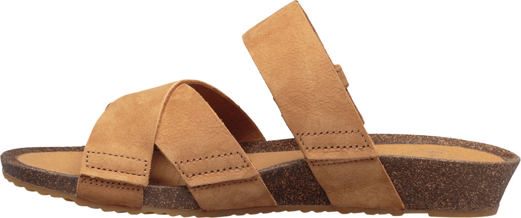 Women's Teva Mahonia Slide, Chipmunk Leather, large, image 3