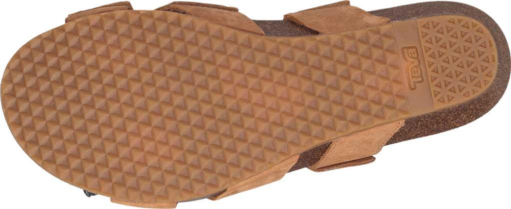 Women's Teva Mahonia Slide, Chipmunk Leather, large, image 6