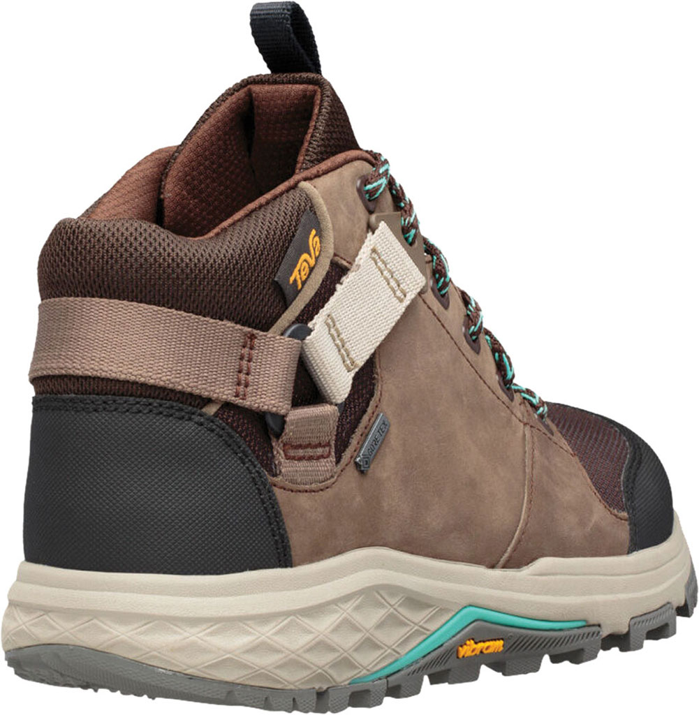 Women's Teva Grandview GTX Waterproof Hiking Boot, Chocolate Chip Leather/Textile, large, image 4