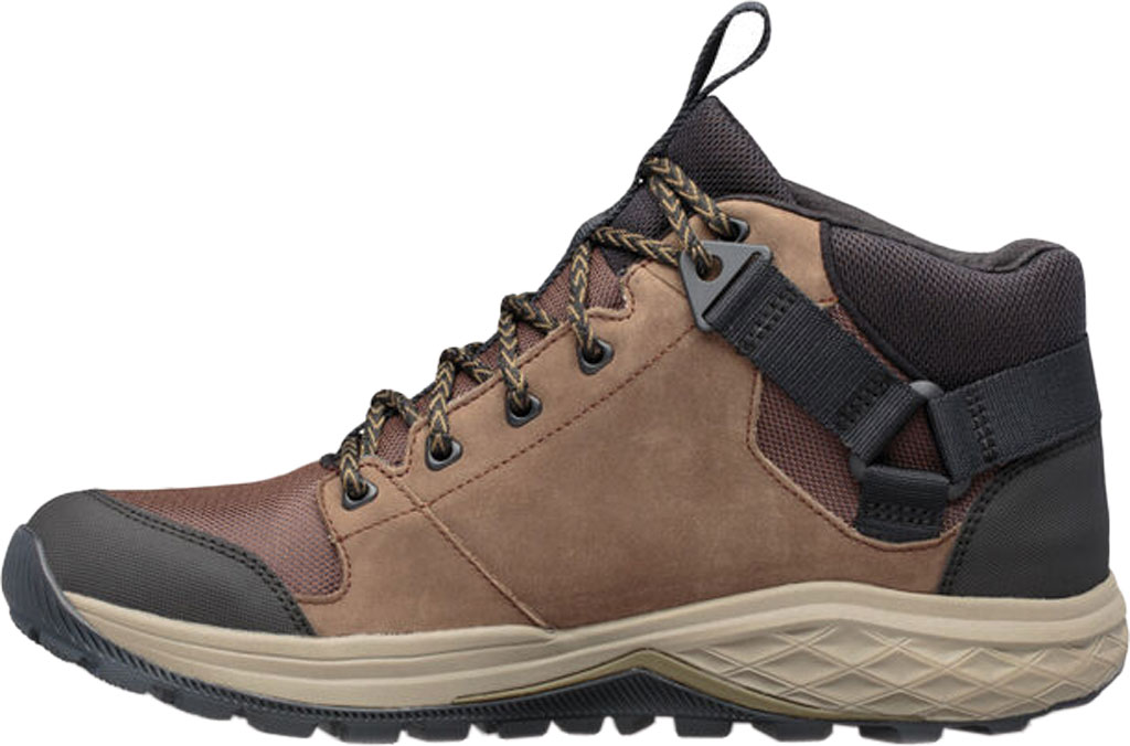 Men's Teva Grandview GTX Waterproof Hiking Boot, Chocolate Chip Leather/Polyester, large, image 3