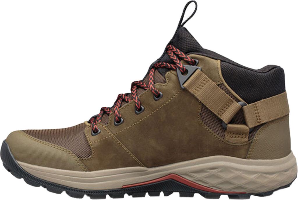 Men's Teva Grandview GTX Waterproof Hiking Boot, Dark Olive Leather/Polyester, large, image 3