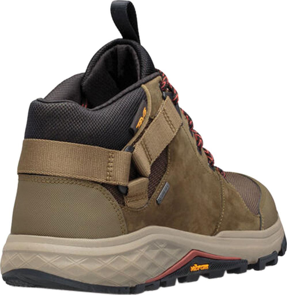 Men's Teva Grandview GTX Waterproof Hiking Boot, Dark Olive Leather/Polyester, large, image 4
