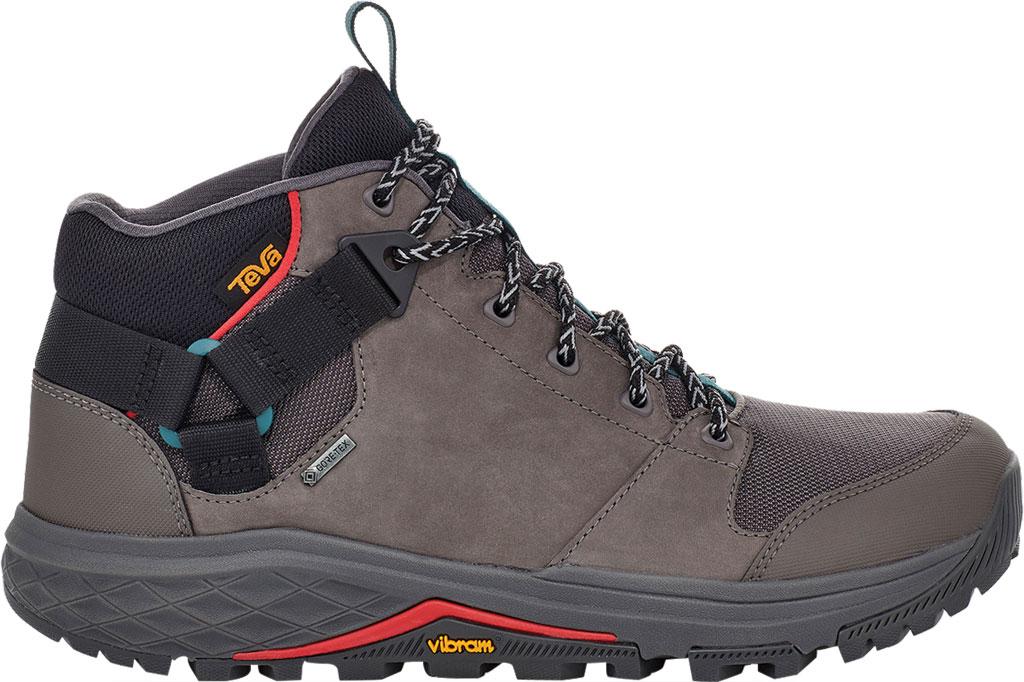Men's Teva Grandview GTX Waterproof Hiking Boot, Dark Gull Grey Waterproof Leather/Fabric, large, image 2