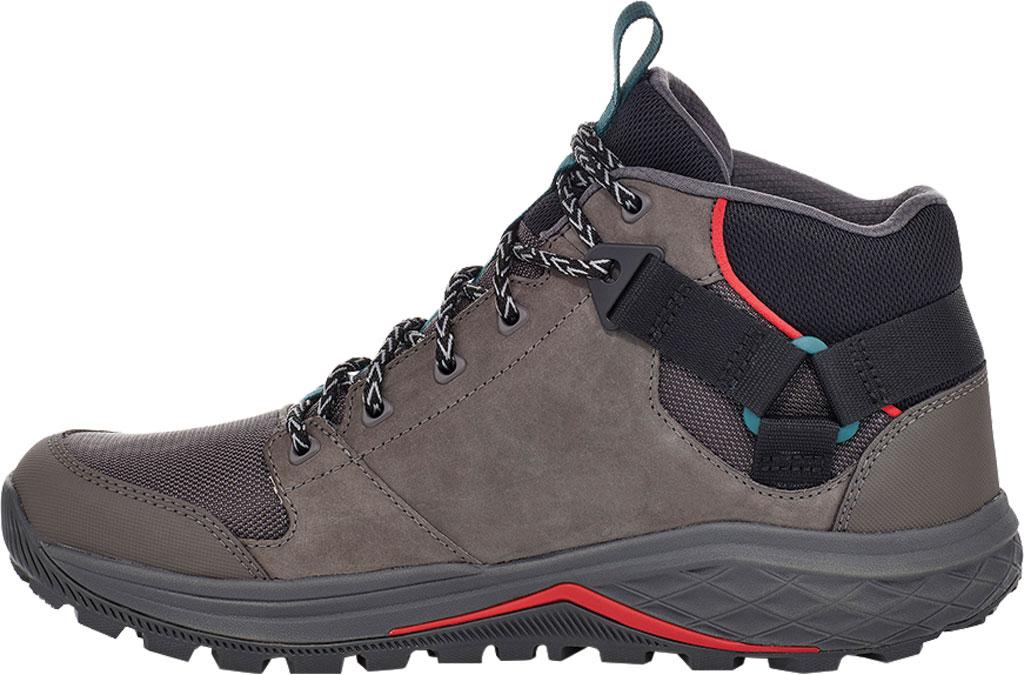 Men's Teva Grandview GTX Waterproof Hiking Boot, Dark Gull Grey Waterproof Leather/Fabric, large, image 3