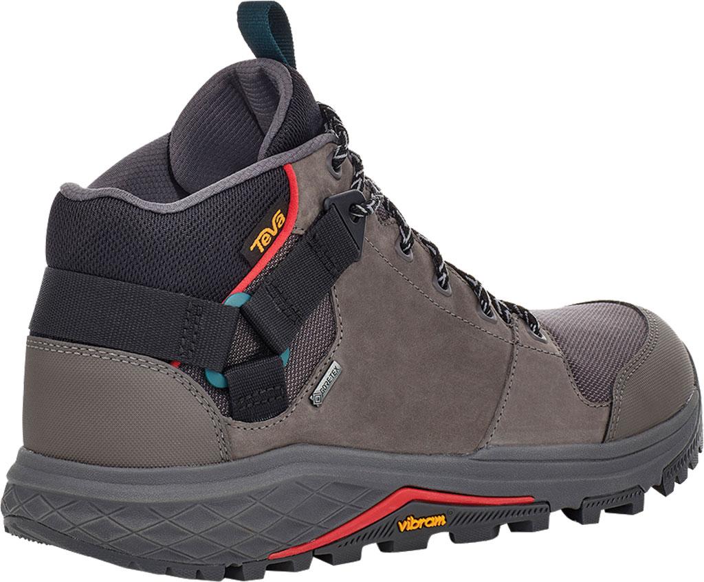 Men's Teva Grandview GTX Waterproof Hiking Boot, Dark Gull Grey Waterproof Leather/Fabric, large, image 4