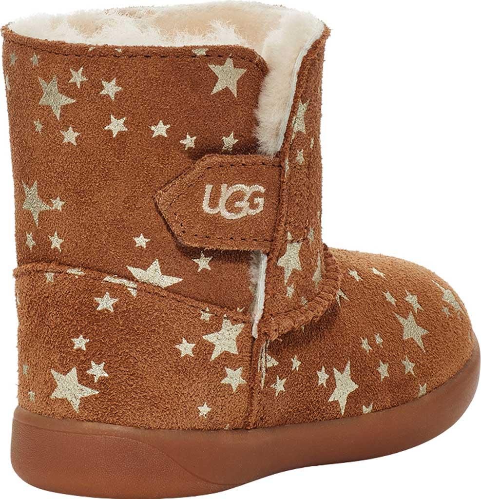Infant UGG Keelan Stars Bootie - Infant, Chestnut Cow Suede, large, image 4
