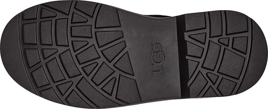 Children's UGG Bolden Metallic Bootie, Metallic Black Cow Suede, large, image 6