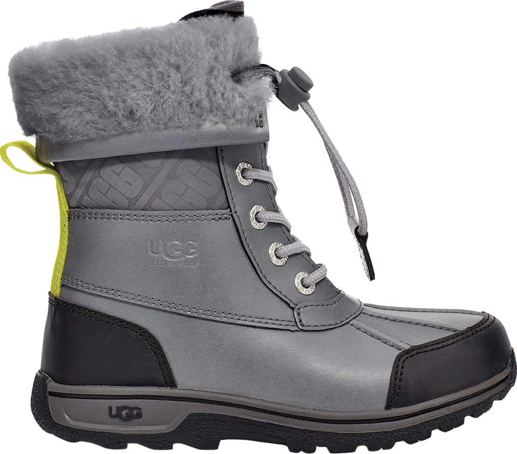 Children's UGG Butte II CWR Waterproof Duck Boot, Metal Waterproof Leather, large, image 2