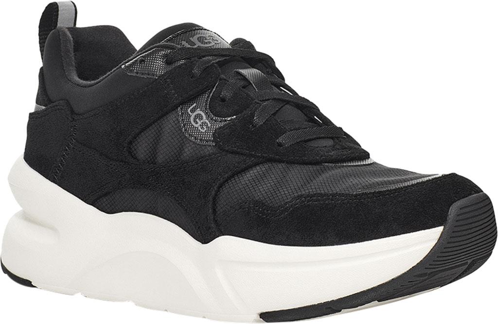Women's UGG La Hills Sneaker, Black Textile, large, image 1