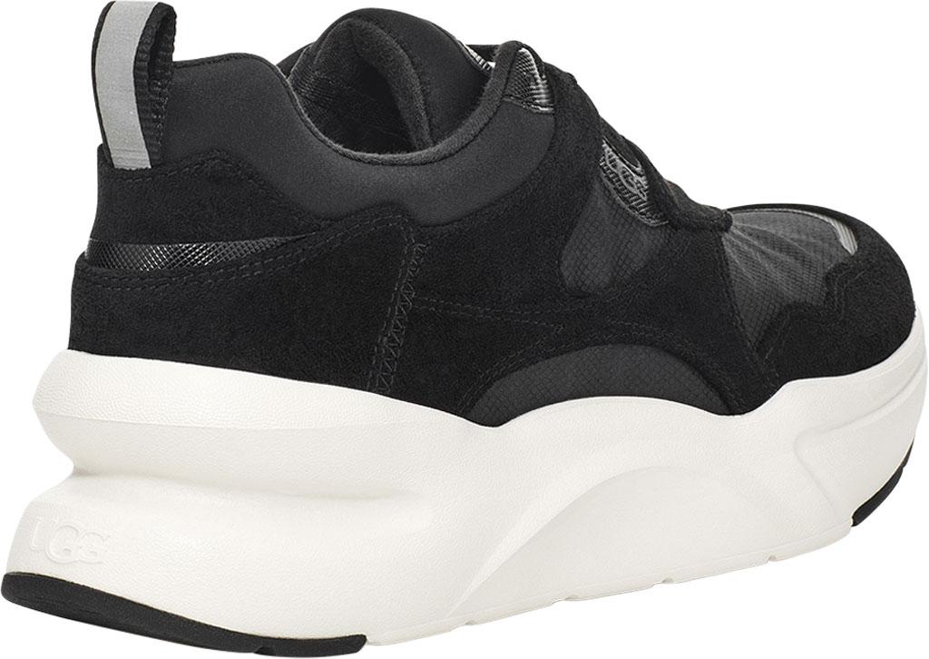 Women's UGG La Hills Sneaker, Black Textile, large, image 4