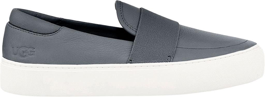 Women's UGG Chayze Slip On Sneaker, Charcoal Cow Leather, large, image 1