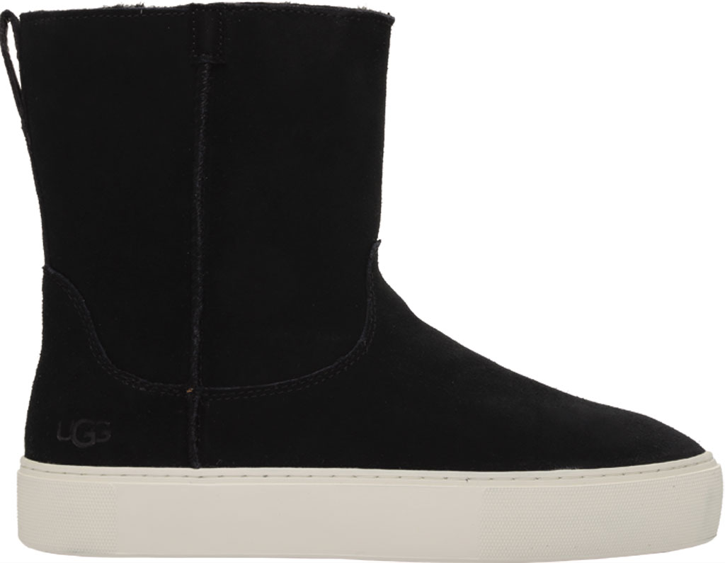 Women's UGG Declan Mid Calf Boot, Black Cow Suede, large, image 2