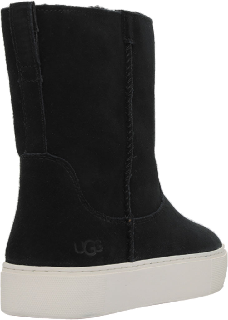 Women's UGG Declan Mid Calf Boot, Black Cow Suede, large, image 4