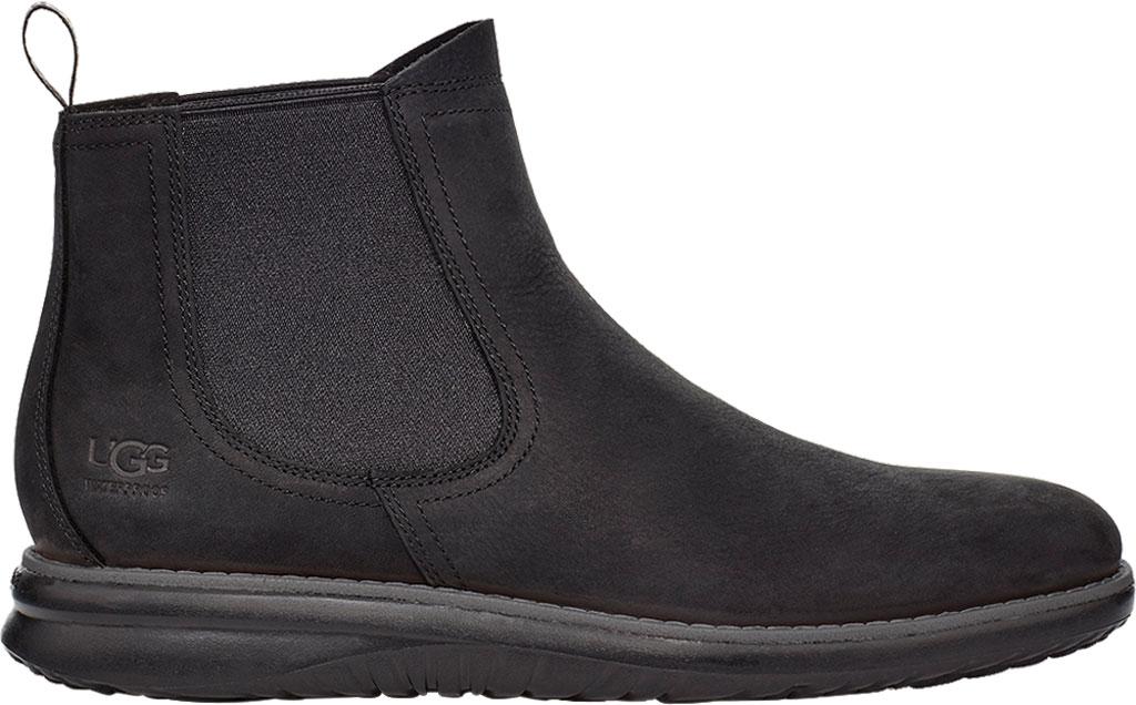 Men's UGG Union Weather Waterproof Chelsea Boot, Black Waterproof Leather, large, image 1