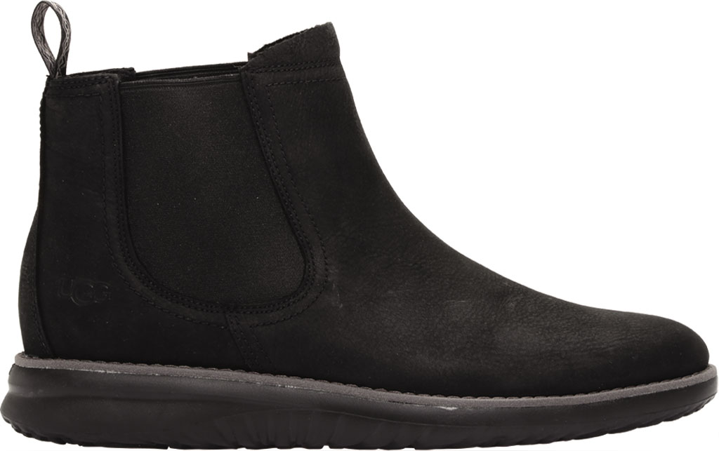 Men's UGG Union Weather Waterproof Chelsea Boot, Black Waterproof Leather, large, image 2