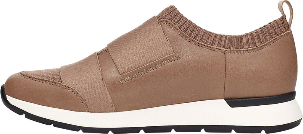 Women's UGG Himari Slip On Sneaker, Caribou Cow Leather/Engineered Knit, large, image 3
