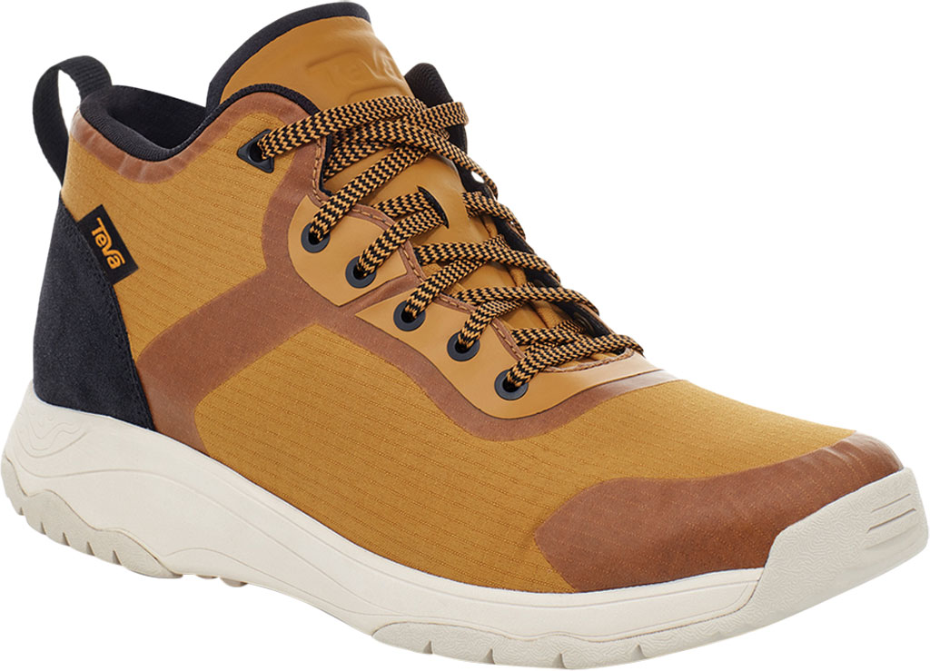 Men's Teva Gateway Mid Hiking Sneaker, Medallion Recycled Polyester/Suede, large, image 1