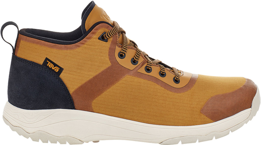 Men's Teva Gateway Mid Hiking Sneaker, Medallion Recycled Polyester/Suede, large, image 2