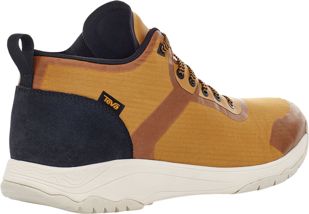 Men's Teva Gateway Mid Hiking Sneaker, Medallion Recycled Polyester/Suede, large, image 4