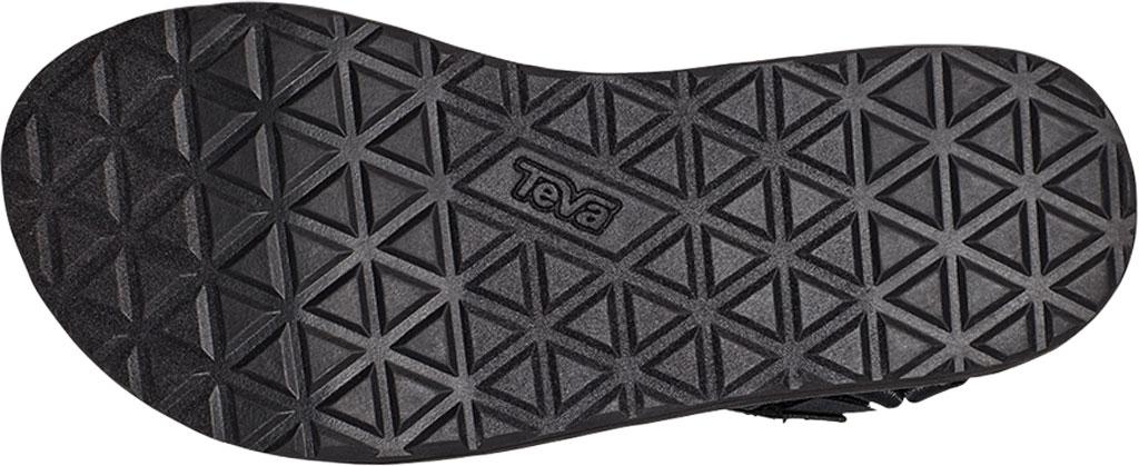 Women's Teva Flatform Universal Satin Sandal, Black Luxe Satin, large, image 6