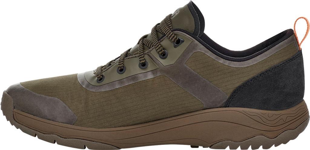 Men's Teva Gateway Low Hiking Sneaker, Dark Olive Recycled Polyester/Suede, large, image 3