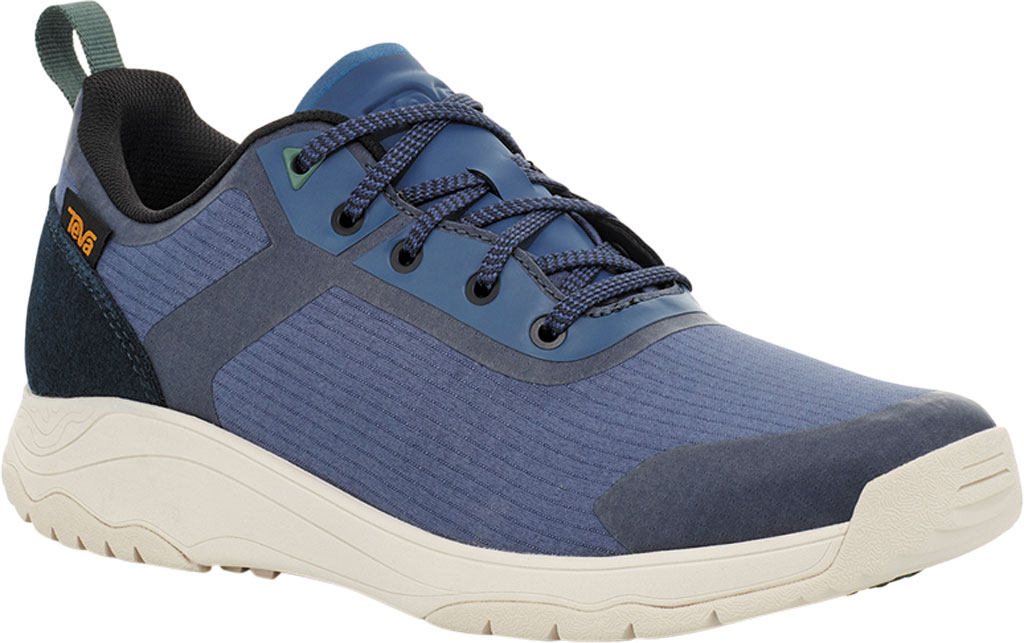 Men's Teva Gateway Low Hiking Sneaker, Blue Indigo Textile/Leather, large, image 1