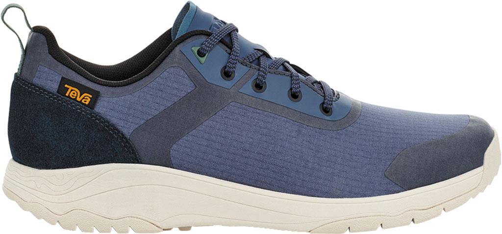 Men's Teva Gateway Low Hiking Sneaker, Blue Indigo Textile/Leather, large, image 2