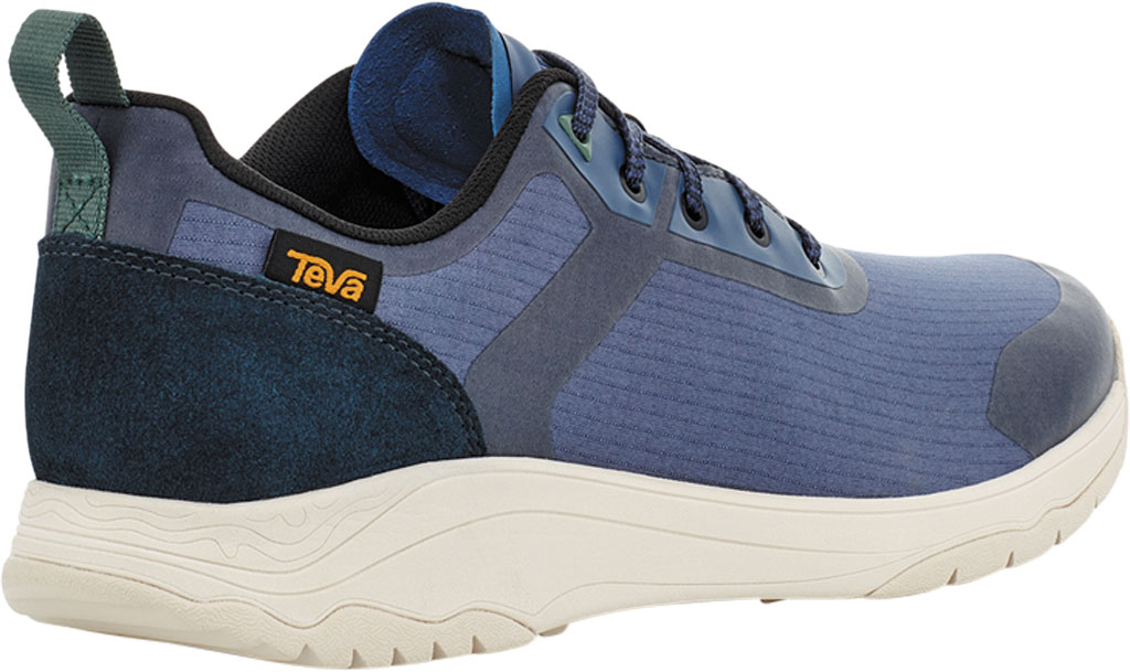Men's Teva Gateway Low Hiking Sneaker, Blue Indigo Textile/Leather, large, image 4