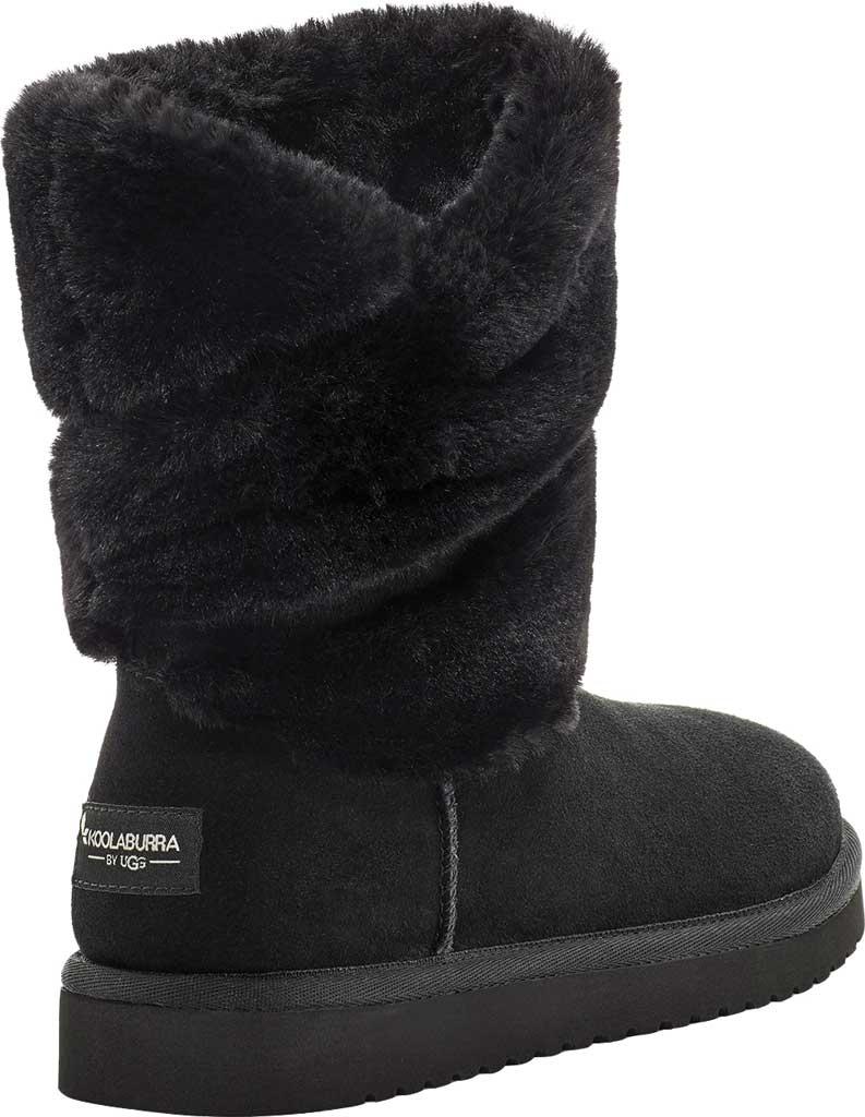 Women's Koolaburra by UGG Dezi Short Mid Calf Boot, Black Suede, large, image 4