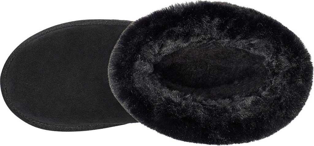 Women's Koolaburra by UGG Dezi Short Mid Calf Boot, Black Suede, large, image 5