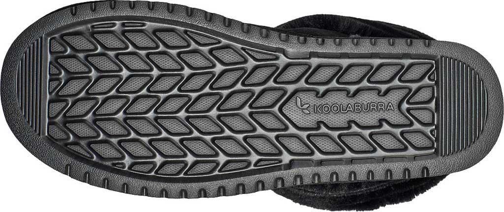 Women's Koolaburra by UGG Dezi Short Mid Calf Boot, Black Suede, large, image 6