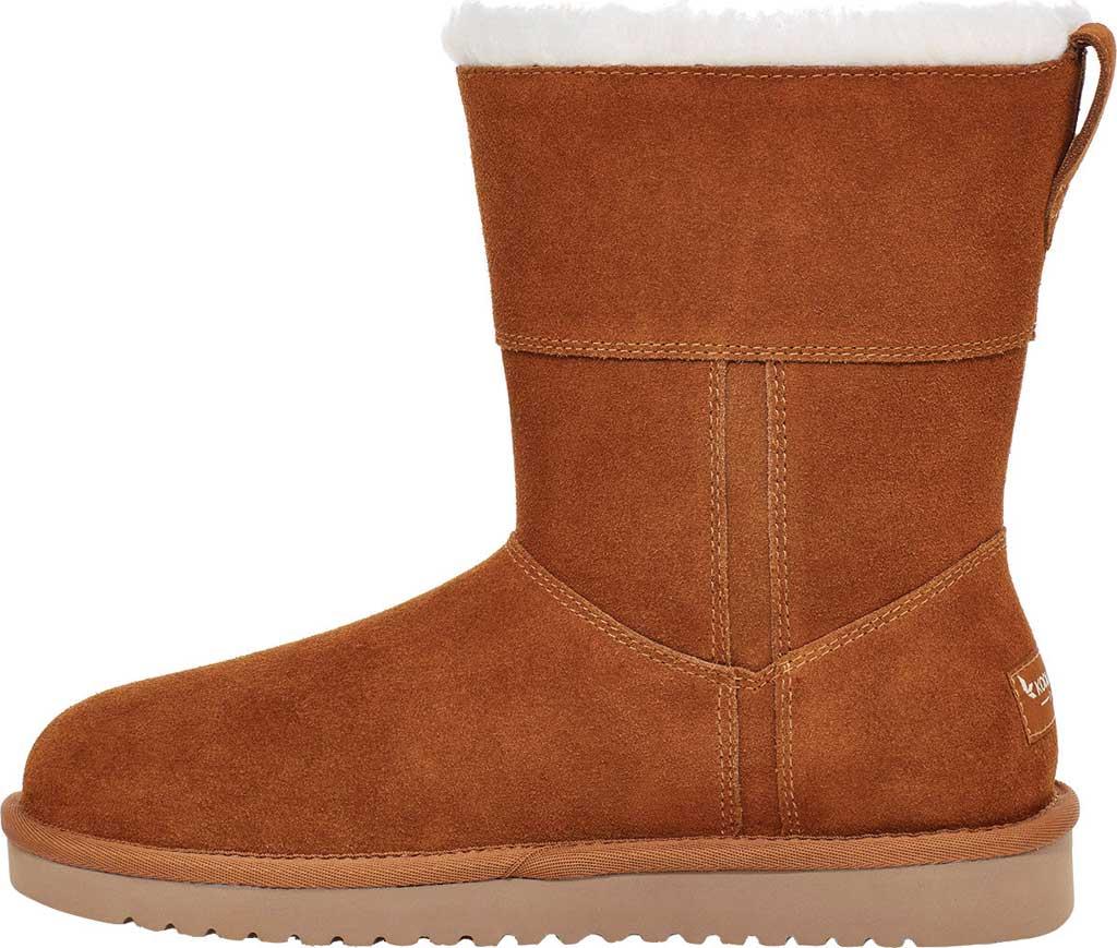 Women's Koolaburra by UGG Aribel Short Mid Calf Boot, Chestnut Suede, large, image 3